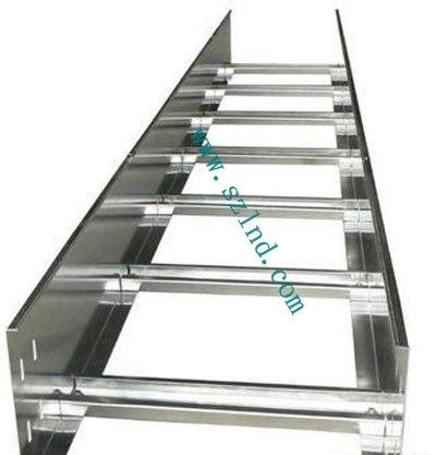 热镀锌梯式钢制桥架-钢制梯式桥架 钢制槽式桥架 钢制喷塑槽式托盘桥